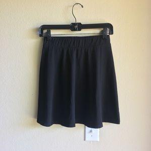 H&M Black Circle Skirt